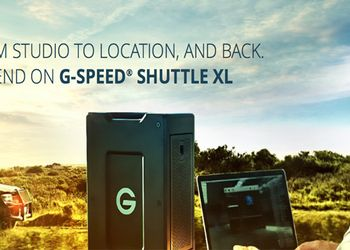 G-SPEED Shuttle XL : dallo studio al set e ritorno