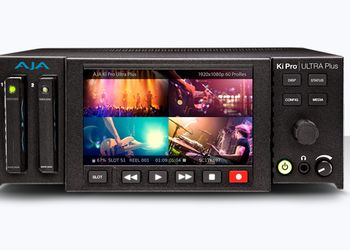 AJA KiPRO Ultra Plus - Multi channel HD recorder e 4K/UHD/2K recorder e player