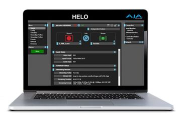 AJA HELO: nuovo firmware v1.1 disponibile !