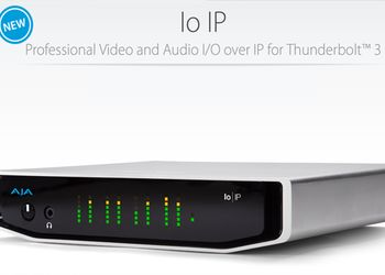 AJA Video presenta IO IP, nuovo device I/O over IP