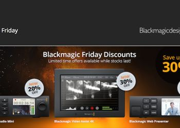 Black Friday 2017 - Blackmagic