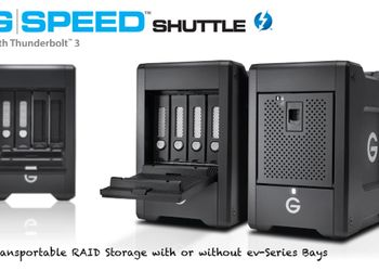 Nuovi G-SPEED Shuttle Thunderbolt 3 !