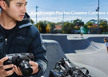 Blackmagic Pocket Cinema Camera 4K finalmente in distribuzione