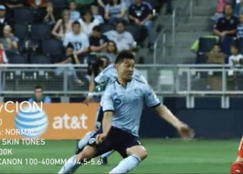 #TryCION - Test shooting at the Sporting Kansas City vs. FC Dallas match