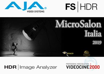 AJA Video al Microsalon con il nuovo HDR Image Analyzer