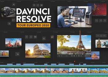 Blackmagic DaVinci European Tour 2020