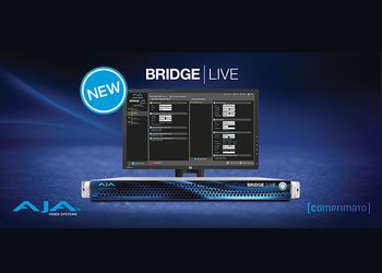 AJA Video presenta BRIDGE LIVE