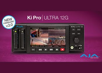 AJA Video rilascia il firmware v2.0 per Ki Pro Ultra 12G